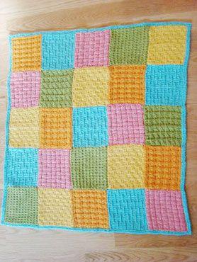 Dream Catcher Blanket designed by Susan B. Anderson