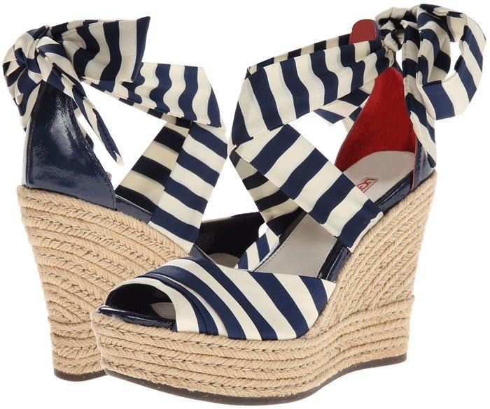 "UGG ""Lucianna"" Stripe Sandals"