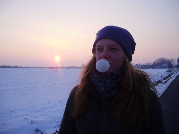 Za dedinou winter sister :)