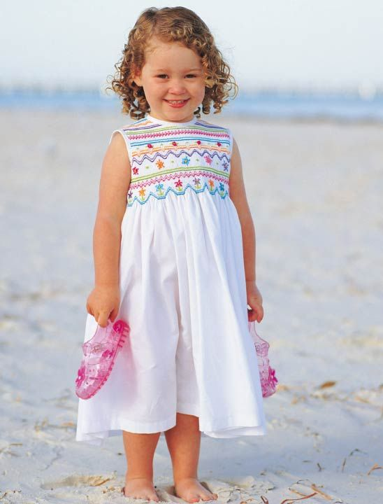 Have the pattern, need more time to sew! lol -Kaleidoscope pattern, Australian Smocking and Embroidery magazine