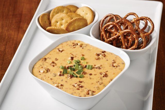 Chorizo adds spiciness to this melty VELVEETA beer dip. It's perfect for Oktoberfest, Cinco de Mayo—or any time you want to put out a dish of delicious!