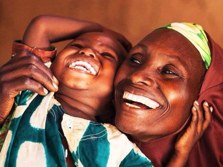 The Love and Laughter of a mother and child in Mozambique.