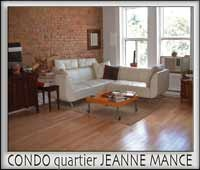 Great Montreal vacation rentals. Central. Stylish. 1 bedroom to 6 bedroom. Close to everything from restaurants to boutiques to culture and live music. Montreal - Europe without the jetlag!!!