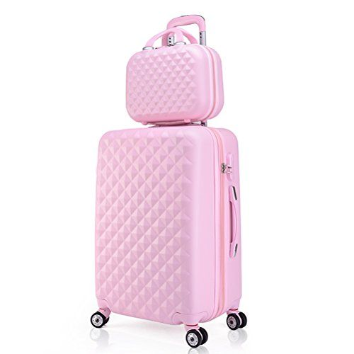 New Trending Luggage: 2 Piece Luggage Set Spinner Trolley Suitcase Hard Shell Carry On Bag (28 Inch, Pink). 2 Piece Luggage Set Spinner Trolley Suitcase Hard Shell Carry On Bag (28 Inch, Pink)   Special Offer: $159.99      444 Reviews Best choice for Traveling ,perfectly fit for business or family use Transport your travel essentials effortlessly and stylishly. This lightweight and durable...