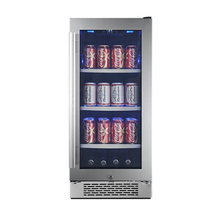 86 Can Built-In Beverage Cooler - Right Hinge Primary Image