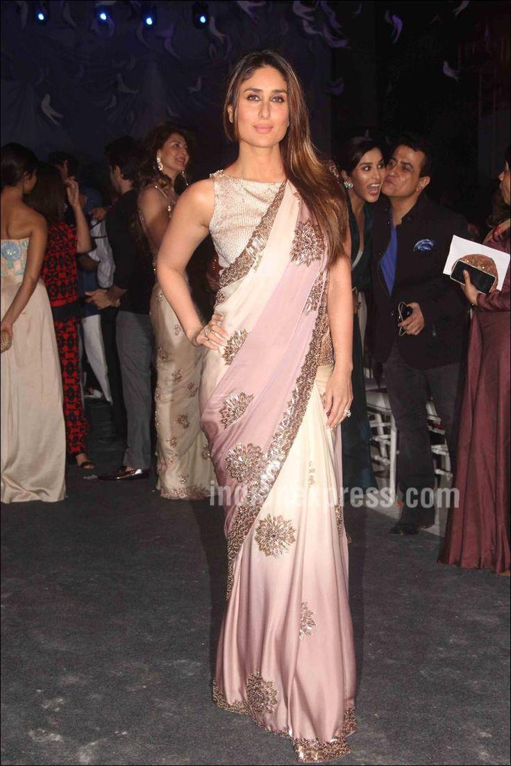 Kareena Kapoor at Manish Malhotra's #LFW2016 show.