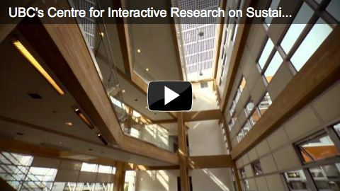 UBC's Centre for Interactive Research on Sustainability is one very green building!
