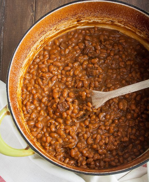 Boston Baked Beans by Tracey's Culinary Adventures
