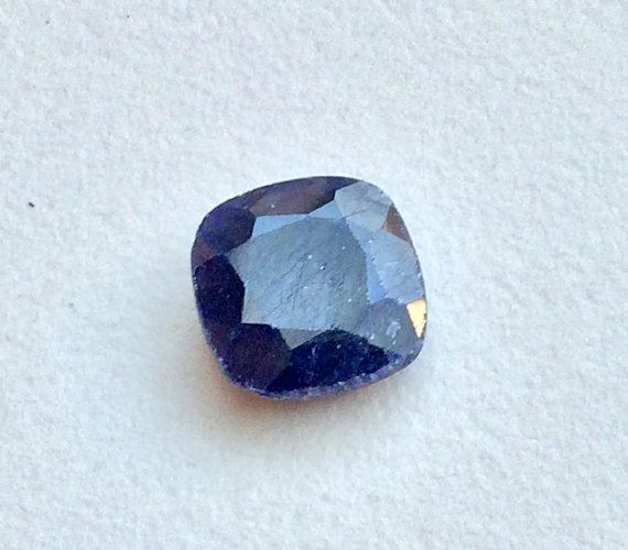 Blue Corundum Bead Blue Corundum Ring Size Blue by gemsforjewels