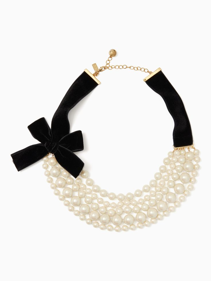 girls in pearls necklace | Kate Spade New York