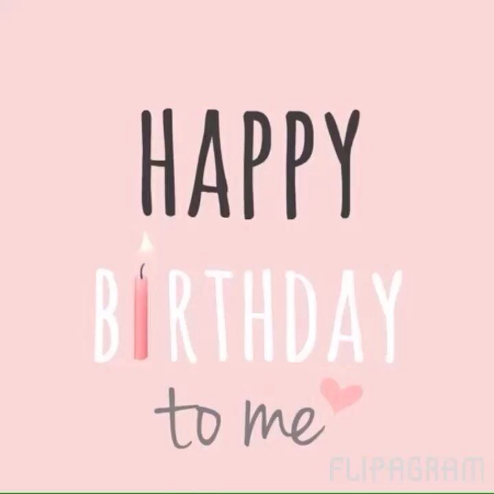 Happy Birthday to me❤️