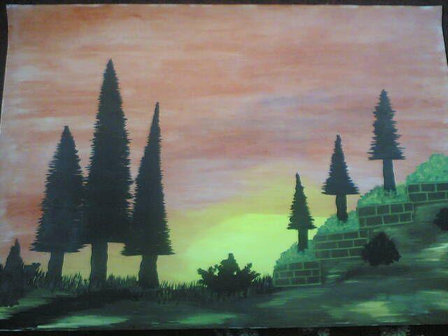 لوحات حزينه ديكورات اطفال تصاميم خلفيات Painting Art