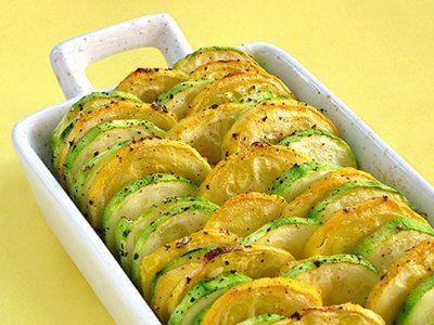 Receta de Calabazas al Horno | Rica guarnición de calabazas al horno, ideal para las personas que son vegetarianas o que llevan una dieta ligera.