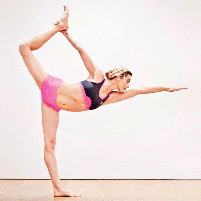 Serene photo of beautiful Ivana Jirešová, a famous actress from Czech Republic who loves doing bikram yoga, and has fallen in love with Kari Traa Butterfly #karitraa #ktbutterfly #yoga #bikramyoga