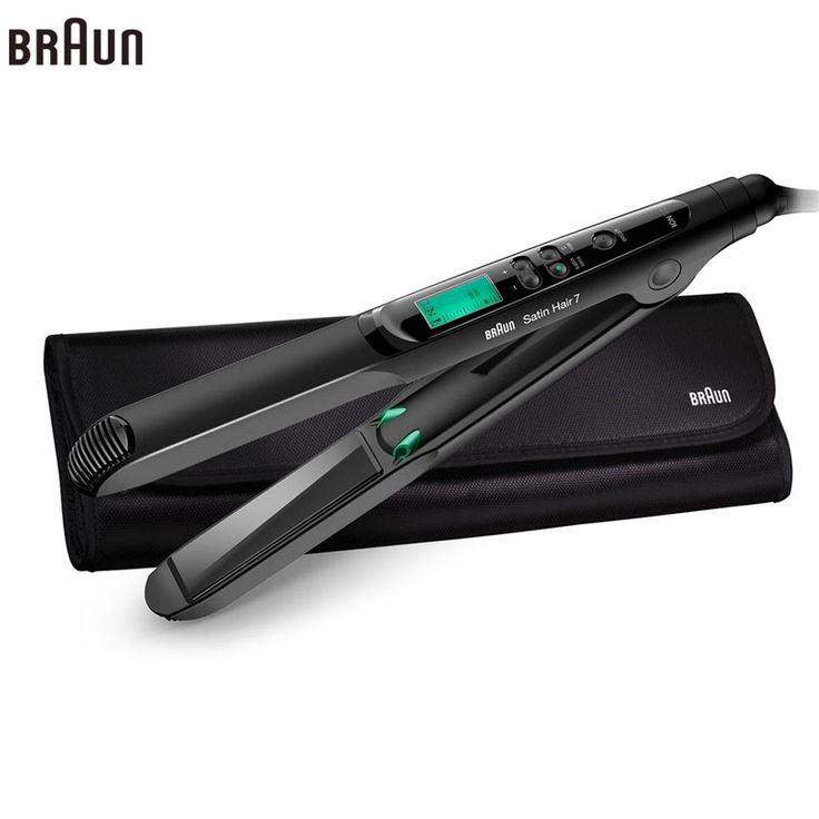 Braun Satin Hair 7 Iontec Straightener ST730 Hair Care Styling Tools Curling Straightening Irons Professional Roller 100-240v #Affiliate