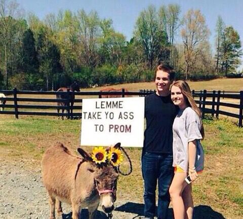 Country prom proposals