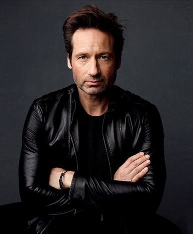 David Duchovny like him in the x-files :)