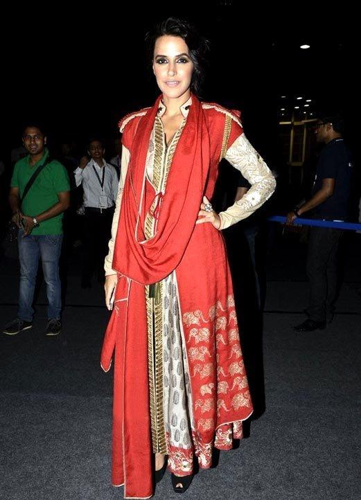 Neha Dhupia At WIFW 2013