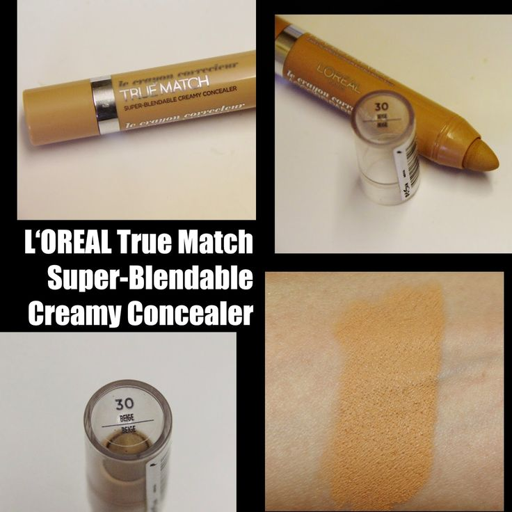 MichelaIsMyName: L'Oreal Perfection True Match Crayon Super-Blendab...