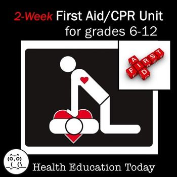 Perfect for the last weeks of school!!! Fun first aid re-enactment activity in this First Aid / C.P.R. Unit.