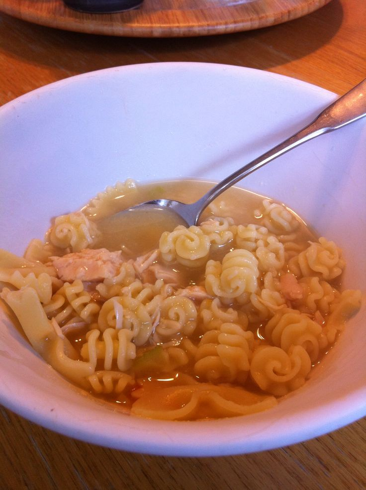 Homade chicken noodle soup