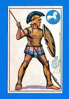 ARMI E SOLDATI - Edis 71 - Figurina-Sticker n. 18 - OPLITA ATENIESE -Rec