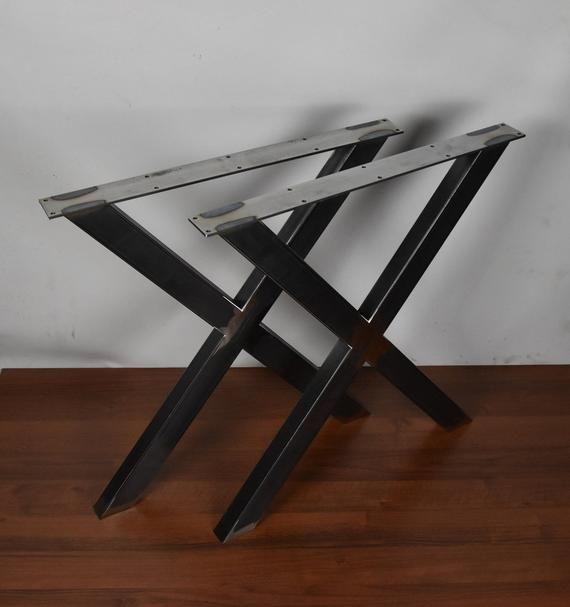 X Tischbeine Tisch Metallbeine Esstisch Schreibtischbeine