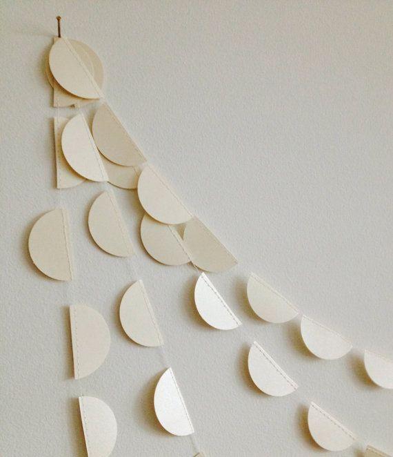 Bruant de guimauve grillée guirlande en papier par GrayDayStudio