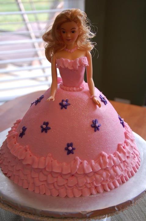 Cake Design Torta Barbie : Barbie Doll cake Birthday Cakes Pinterest Barbie ...