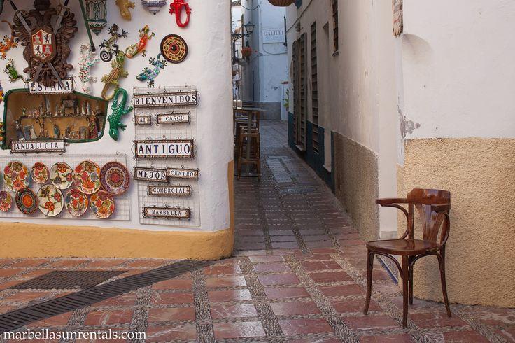 Old Town - Calle Alamo, near church La Encarnación, Marbella