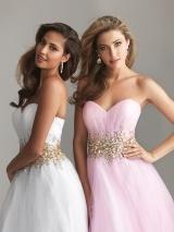 Puff Ball School Prom Dresses