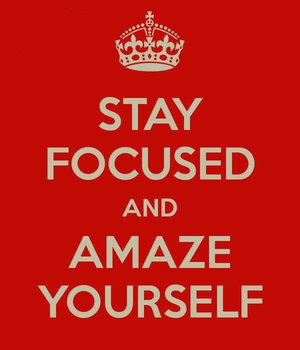 Stay Focused and Amaze Yourself!  Vision Board Party