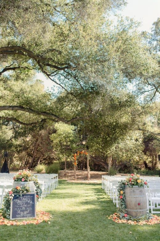 Temecula Creek Inn Wedding - Rustic Wedding Chic