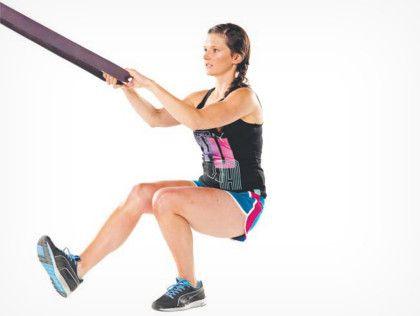 """exercício agachamento """"pistola"""" ou pistol squat    http://tafitness.net/como-treinar-sem-equipamento/"""