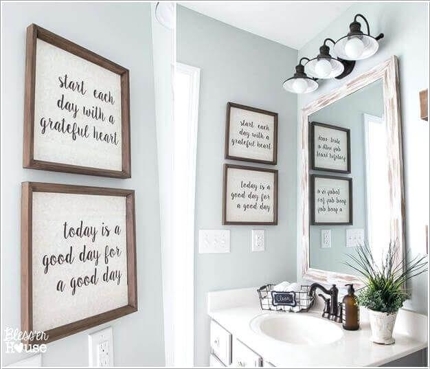Bathroom Wall Decor Ideas Online Bathroom Wall Decor Pictures