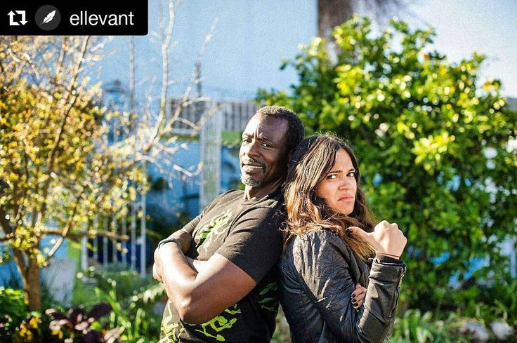 #Repost @ellevant with @repostapp  Grow your own food! Ron Finley the gangster gardener is talking about a food revolution that is happening all over the world. Something we support because food affects the mind and the body. #growyourown #ellevantaroundtheworld #opel #ellevant