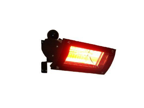 Fire Sense Indoor/Outdoor Wall Mounted Infrared Heater, Black By Fire Sense.