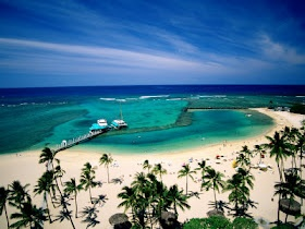 Waikiki Beach, Oahu, Hawaii... Its official and booked! Spring break can't come fast enough!