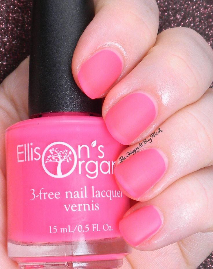 Dazzling - 5 Free MATTE Neon Pink Nail Polish - Glow-in-the-Dark - Vegan - You Are collection by EllisonsOrganics on Etsy https://www.etsy.com/listing/234032433/dazzling-5-free-matte-neon-pink-nail