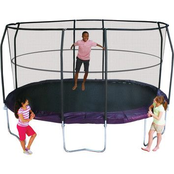 Jump Pod Jump Pod Premium T - Connector with Welded Slot 14' Oval Trampoline