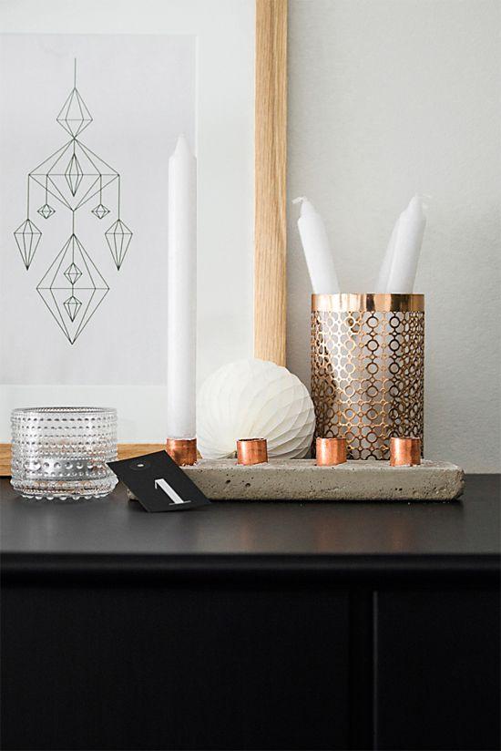 Concrete + copper