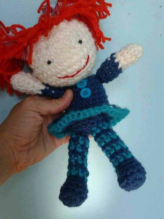 Muneca al crochet