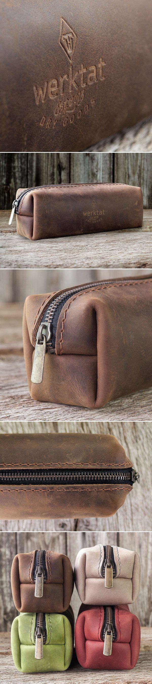 pencil case for men, Ledermäppchen für Herren, braun #pencil #case #leather #men #mäppchen #ledermäppchen #leder #Herren #braun #brown
