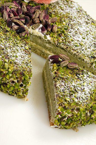 Torta al pistacchio di Bronte Torta al pistacchio di Bronte @Whitney Clark Eslicker