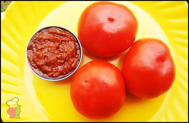 Tomato Pickle - Learn the recipe of this very tangy pickle that you would love to have with any dish at http://ourvivaha.com/vivahakitchen/recipe/tomato-pickle/
