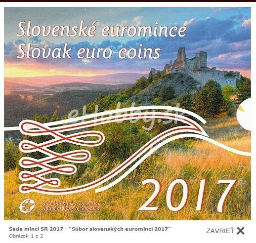 Novinkou v našej ponuke je aj súbor slovenských euromincí 2017 ;)