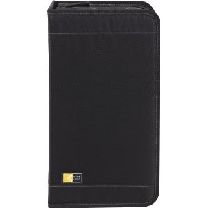 #6: Case Logic CDW-92 Nylon CD/DVD Wallet 100-Capacity (Black)