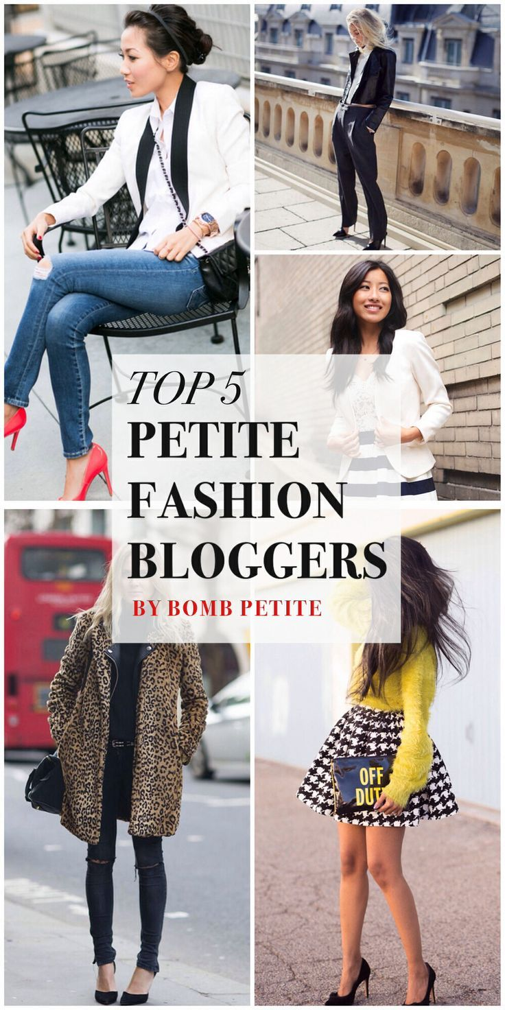 The top 5 petite personal style bloggers we follow and love