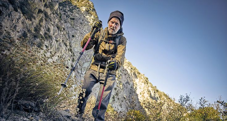 Stranded on a Mountain, and Running Out of Time Don Buchanan (trail name: Don Viejo), then 85, spent a night on a ledge in California's San Gabriel Mountains on January 25, 2014.