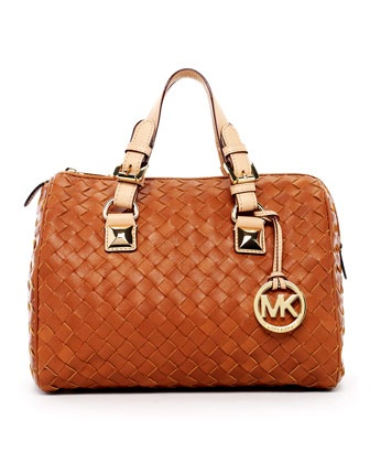 MICHAEL Michael Kors  Grayson Woven Medium Satchel...love MK bags!: Fashion, Woven Medium, Michael Michael, Kors Grayson, Michael Kors, Medium Satchel, Mk Bags, V13D4 Michael, Grayson Woven